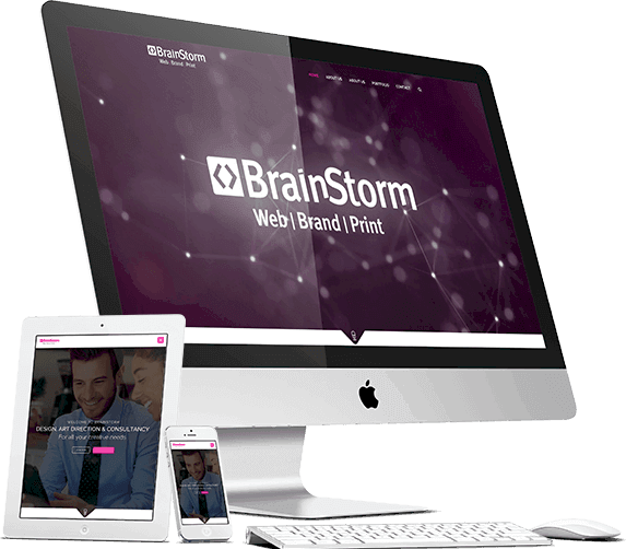 home brainstorm brainstorm design | branding, graphic & website design limerick