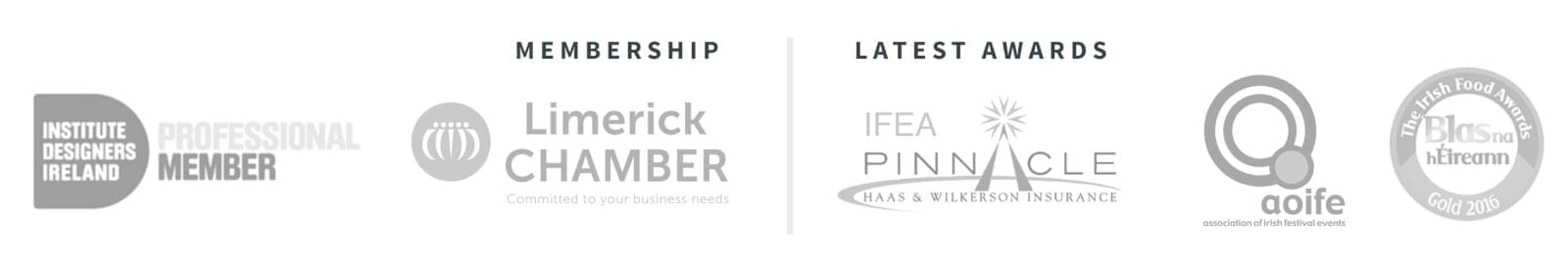 membership grey brainstorm design | branding, graphic & website design limerick