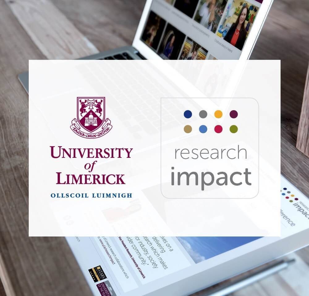 UL Research Impact impact21 brainstorm design | branding, graphic & website design limerick